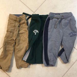 18 months toddler boys pants bundle